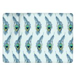 Background Of Beautiful Peacock Feathers Samsung Galaxy Tab 10.1  P7500 Flip Case