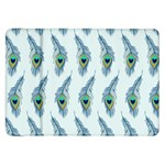 Background Of Beautiful Peacock Feathers Samsung Galaxy Tab 8.9  P7300 Flip Case