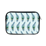 Background Of Beautiful Peacock Feathers Apple iPad Mini Zipper Cases