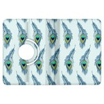 Background Of Beautiful Peacock Feathers Kindle Fire HDX Flip 360 Case