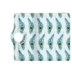 Background Of Beautiful Peacock Feathers Kindle Fire HDX 8.9  Flip 360 Case