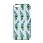 Background Of Beautiful Peacock Feathers Apple iPhone 6/6S Hardshell Case