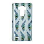 Background Of Beautiful Peacock Feathers LG G4 Hardshell Case