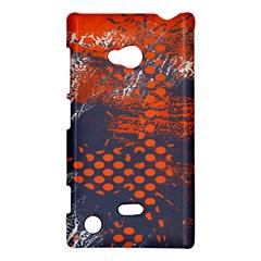 Dark Blue Red And White Messy Background Nokia Lumia 720 by Nexatart