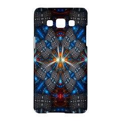 Fancy Fractal Pattern Background Accented With Pretty Colors Samsung Galaxy A5 Hardshell Case  by Nexatart
