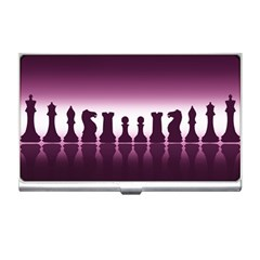Chess Pieces Business Card Holders by Valentinaart
