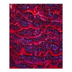 Plastic Mattress Background Shower Curtain 60  X 72  (medium)  by Nexatart