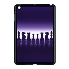 Chess Pieces Apple Ipad Mini Case (black) by Valentinaart
