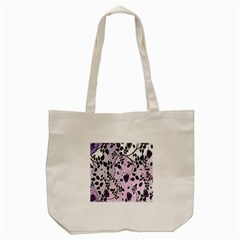 Floral Pattern Background Tote Bag (cream) by Nexatart