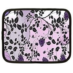 Floral Pattern Background Netbook Case (xxl)  by Nexatart