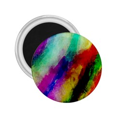 Colorful Abstract Paint Splats Background 2 25  Magnets by Nexatart