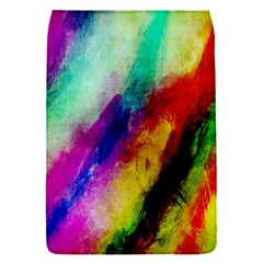 Colorful Abstract Paint Splats Background Flap Covers (s)  by Nexatart