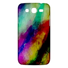 Colorful Abstract Paint Splats Background Samsung Galaxy Mega 5 8 I9152 Hardshell Case  by Nexatart