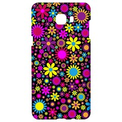 Bright And Busy Floral Wallpaper Background Samsung C9 Pro Hardshell Case  by Nexatart