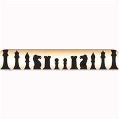 Chess Pieces Small Bar Mats by Valentinaart