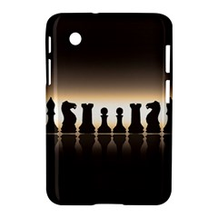 Chess Pieces Samsung Galaxy Tab 2 (7 ) P3100 Hardshell Case  by Valentinaart