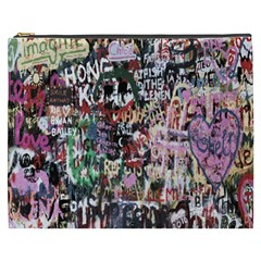 Graffiti Wall Pattern Background Cosmetic Bag (xxxl)  by Nexatart