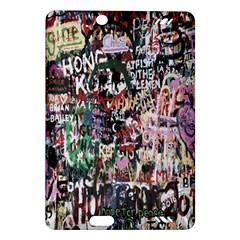 Graffiti Wall Pattern Background Amazon Kindle Fire Hd (2013) Hardshell Case by Nexatart