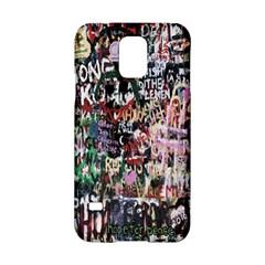 Graffiti Wall Pattern Background Samsung Galaxy S5 Hardshell Case  by Nexatart