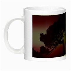 Sunset Night Luminous Mugs by Valentinaart
