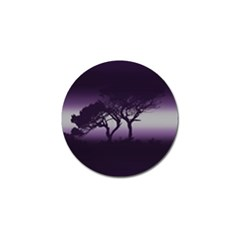 Sunset Golf Ball Marker by Valentinaart