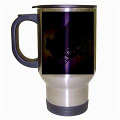 Sunset Travel Mug (silver Gray) by Valentinaart