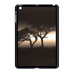 Sunset Apple Ipad Mini Case (black) by Valentinaart