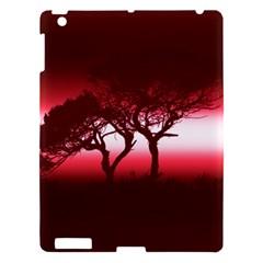 Sunset Apple Ipad 3/4 Hardshell Case by Valentinaart