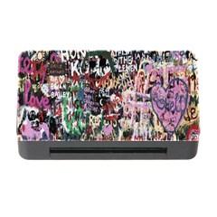 Graffiti Wall Pattern Background Memory Card Reader With Cf by Nexatart