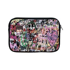 Graffiti Wall Pattern Background Apple Ipad Mini Zipper Cases by Nexatart