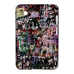 Graffiti Wall Pattern Background Samsung Galaxy Tab 2 (7 ) P3100 Hardshell Case  by Nexatart