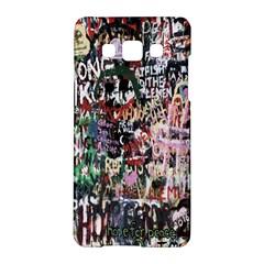 Graffiti Wall Pattern Background Samsung Galaxy A5 Hardshell Case  by Nexatart
