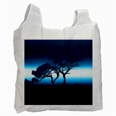 Sunset Recycle Bag (two Side)  by Valentinaart