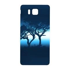Sunset Samsung Galaxy Alpha Hardshell Back Case by Valentinaart