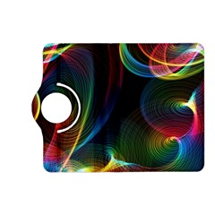 Abstract Rainbow Twirls Kindle Fire Hd (2013) Flip 360 Case by Nexatart