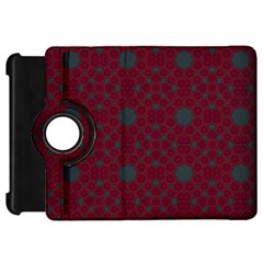 Blue Hot Pink Pattern With Woody Circles Kindle Fire Hd 7  by Nexatart