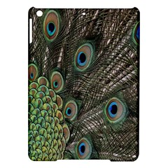 Close Up Of Peacock Feathers Ipad Air Hardshell Cases by Nexatart
