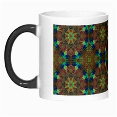 Seamless Abstract Peacock Feathers Abstract Pattern Morph Mugs by Nexatart
