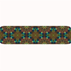 Seamless Abstract Peacock Feathers Abstract Pattern Large Bar Mats by Nexatart