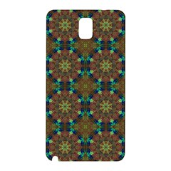 Seamless Abstract Peacock Feathers Abstract Pattern Samsung Galaxy Note 3 N9005 Hardshell Back Case by Nexatart