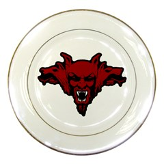 Dracula Porcelain Plates by Valentinaart