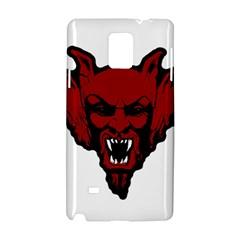 Dracula Samsung Galaxy Note 4 Hardshell Case by Valentinaart