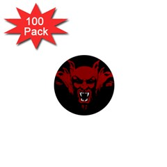 Dracula 1  Mini Magnets (100 Pack)  by Valentinaart
