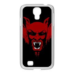 Dracula Samsung Galaxy S4 I9500/ I9505 Case (white) by Valentinaart