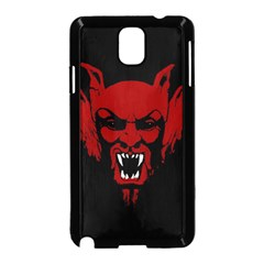 Dracula Samsung Galaxy Note 3 Neo Hardshell Case (black) by Valentinaart