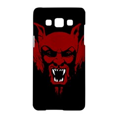 Dracula Samsung Galaxy A5 Hardshell Case  by Valentinaart