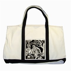 Vampire  Two Tone Tote Bag by Valentinaart