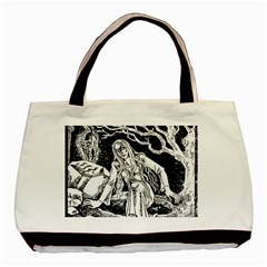 Vampire  Basic Tote Bag (two Sides) by Valentinaart