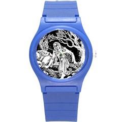 Vampire  Round Plastic Sport Watch (s) by Valentinaart