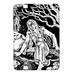 Vampire  Kindle Fire Hd 8 9  by Valentinaart